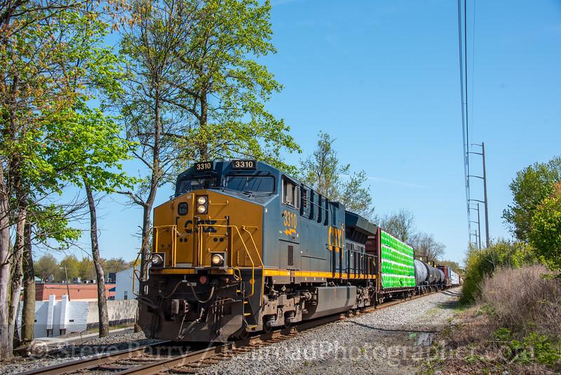 CSX; Ridley Park PA; 4/28/20
