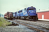 Conrail and Middletown & Hummelstown; Hummelstown PA; 9/1989