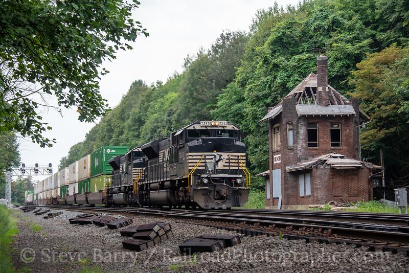 Norfolk Southern; Gallitzin PA; 8/15/20