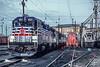 Virginia Railway Express (on Amtrak); Philadelphia PA; 12/1/91