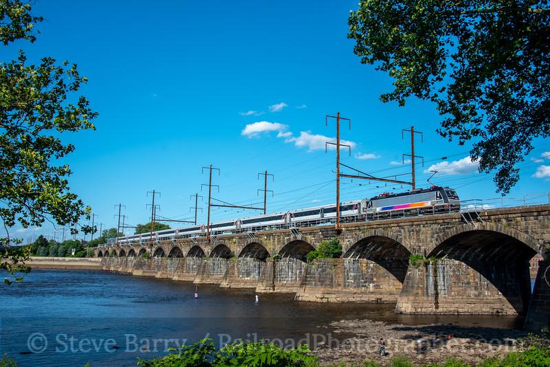 NJ Transit; Morrisville PA; 7/13/20