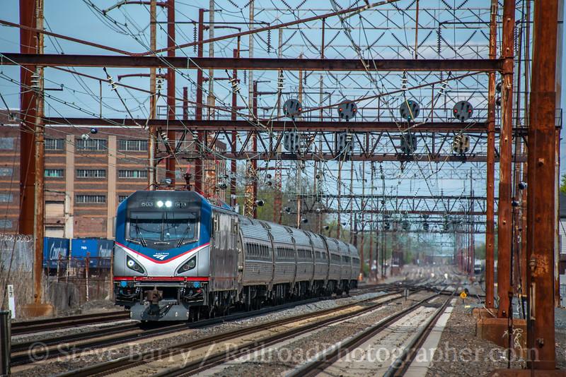 Amtrak; Marcus Hook PA; 4/25/20