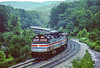 Photo 5484<br /> Amtrak<br /> Fairhope, Pennsylvania<br /> June 1995