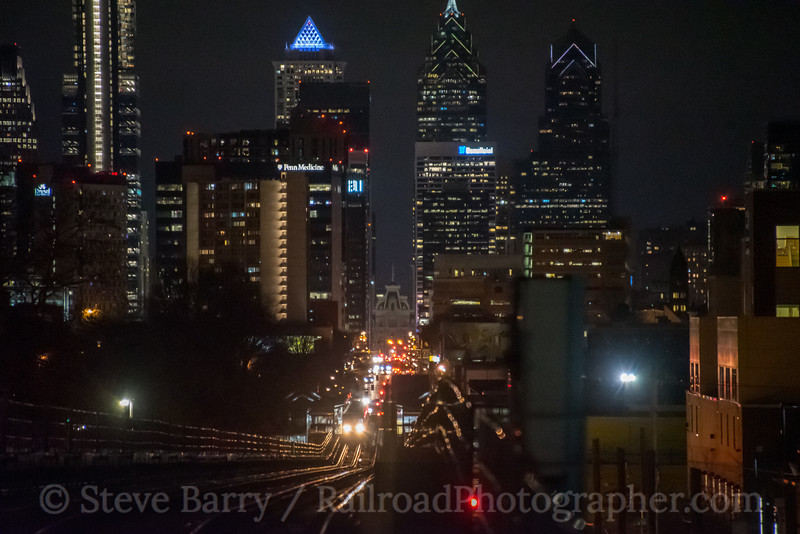 Photo 5455<br /> Market-Frankford Subway-Elevated (SEPTA)<br /> 46th Street, Philadelphia, Pennsylvania<br /> January 24, 2019