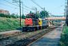 Photo 5047<br /> Canadian National<br /> Mont Royal, Montreal, Quebec<br /> September 8, 1987
