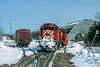 Photo 5603<br /> Société de chemin de fer de la Gaspésie<br /> Gaspé, Quebec<br /> April 2001