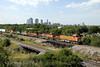 Photo 1187<br /> BNSF Railway; Fort Worth, Texas<br /> June 14, 2008