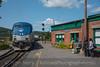 Photo 4299<br /> Amtrak<br /> Bellows Falls, Vermont<br /> September 10, 2017