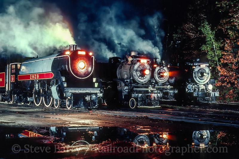 Steamtown USA; Riverside VT; 10/25/80