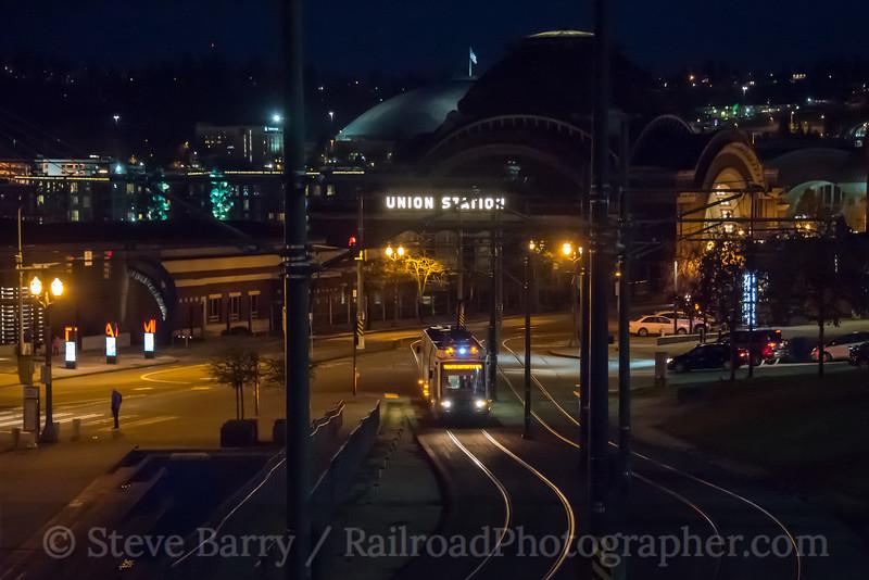Photo 4617<br /> Tacoma Link<br /> Union Station, Tacoma, Washington<br /> March 20, 2018