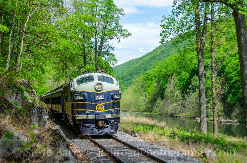 Potomac Eagle; Old Fields WV; 5/3/21