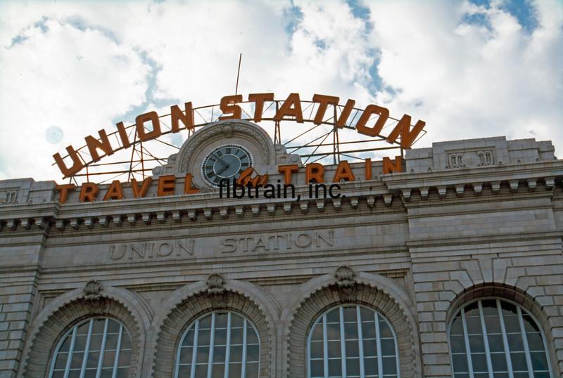 UP1999090041 - Union Pacific, Denver, CO, 9-1999