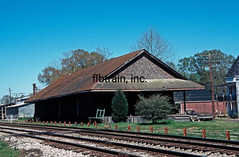 IC1988030001 - Illinois Central, Magnolia, MS, 3/1988
