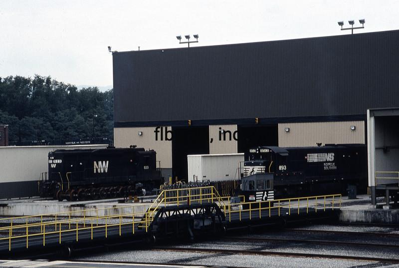NS1987090002 - Norfolk Southern, Roanoke, VA, 9/1987