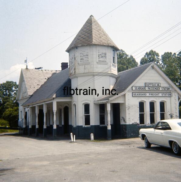 SCL1966050001 - Seaboard Coast Line, Suffolk, VA, 5-1966