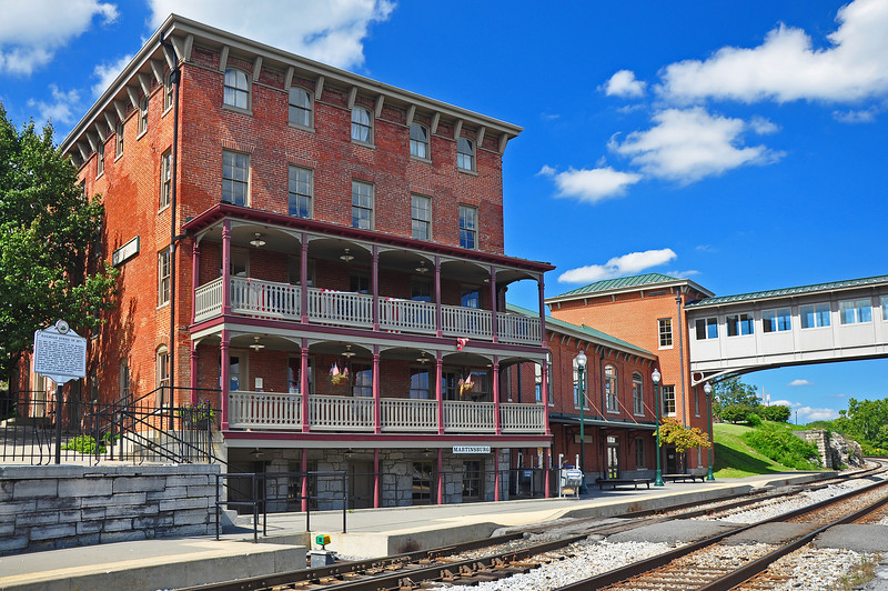 Hotel and Train Station - Martinsburg, WV - 2011