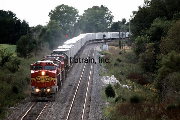 BNSF1996091048 - BNSF, Chillicothe, IL, 9/1996