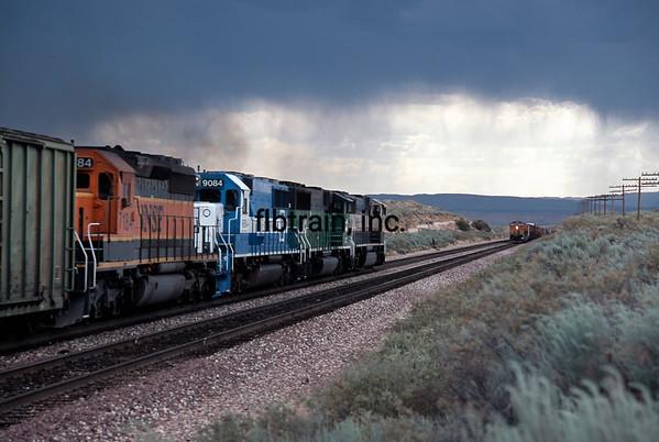 BNSF2000060007 - BNSF, Dalies, NM, 6/2000