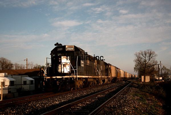 IC1989010019 - Illinois Central, Pass Manchac, LA, 1/1989