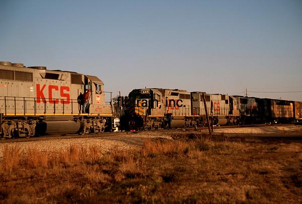 KCS1995010011 - Kansas City Southern, Ashdown, AR, 1/1995
