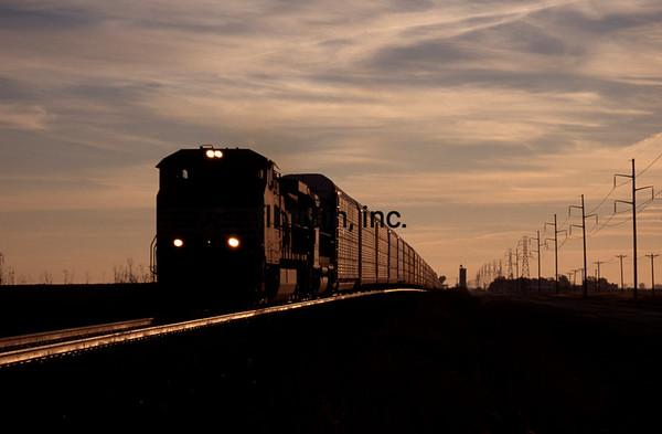NS1996100004 - Norfolk Southern, Buffalo, IL, 10/1996