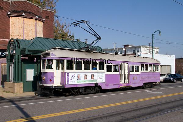 MEM2012100018 - Memphis Streetcars, Memphis, TN, 10/2012