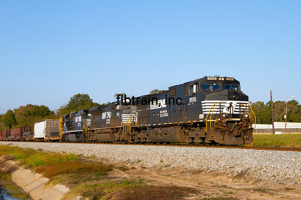 NS2012110134 - Norfolk Southern, Meridian, MS, 11/2012