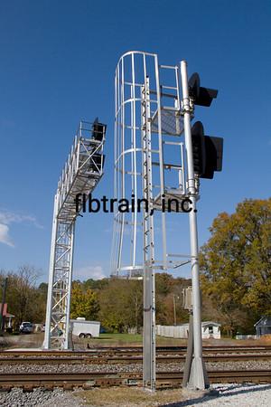 NS2012100669 - Norfolk Southern, Cohutta, GA, 10/2012