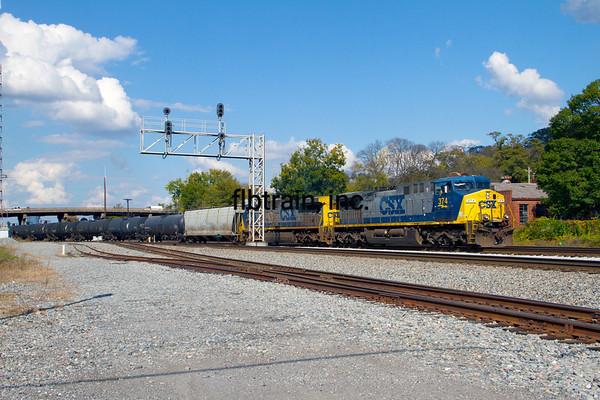 CSX2012100402 - CSX, Dalton, GA, 10/2012
