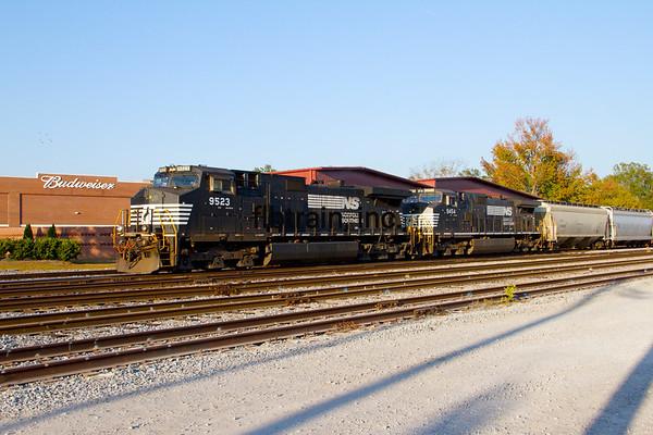 NS2012110154 - Norfolk Southern, Meridian, MS, 11/2012