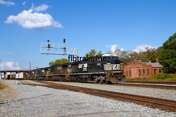 NS2012100783 - Norfolk Southern, Dalton, GA, 10/2012