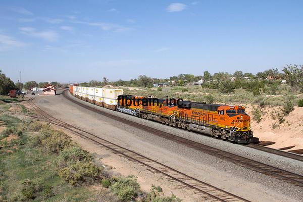 BNSF2012051759 - BNSF, Mountainair, NM, 5/2012