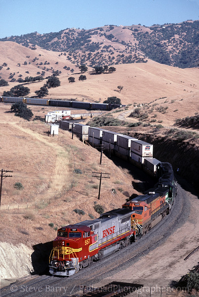 Photo 0085<br /> Burlington Northern & Santa Fe; Caliente, California