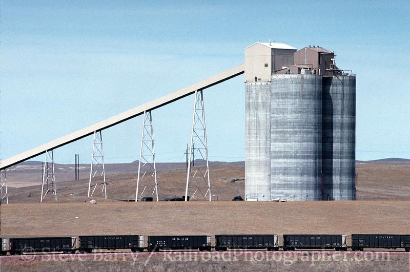 Burlington Northern & Santa Fe; Powder River Basin, Wyoming