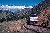 Photo 2985<br /> Amtrak; Tunnel One, Blue Mountain, Colorado<br /> May 1985