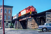 Photo 4702<br /> Providence & Worcester<br /> Woonsocket, Rhode Island<br /> July 1986