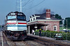 Photo 5413<br /> Amtrak<br /> Alexandria, Virginia<br /> August 1989