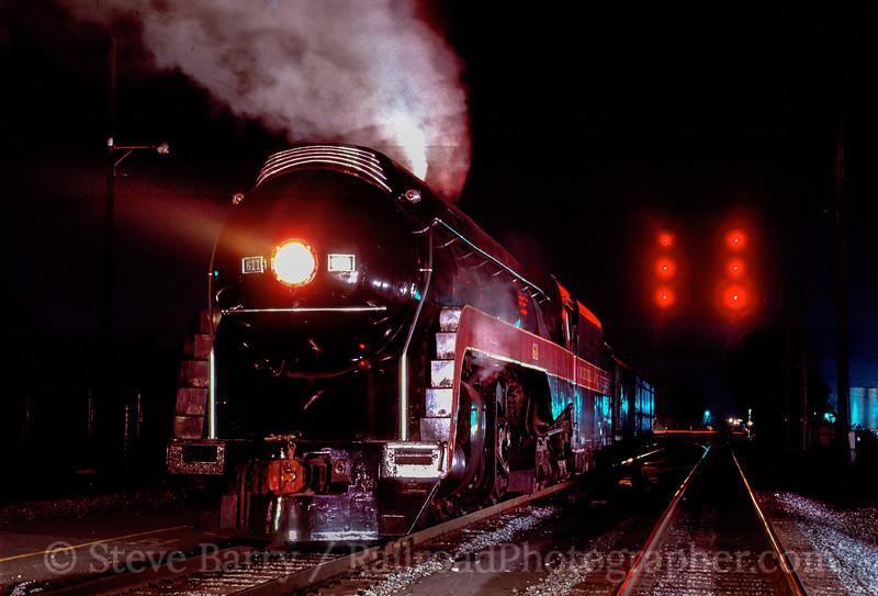 Photo 2875 Norfolk & Western 611; Salisbury, North Carolina July 18, 1989
