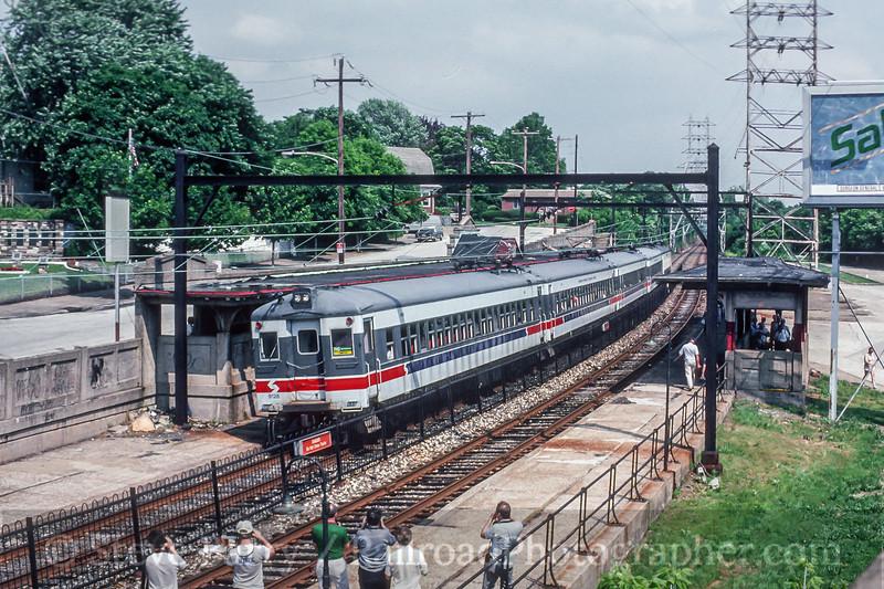 SEPTA; Wissahickon PA; 6/1989
