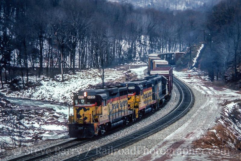 CSX; Fairhope PA; 1/1989