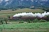 Photo 0408<br /> Norfolk & Western 611; Blue Ridge, Virginia<br /> September 1989