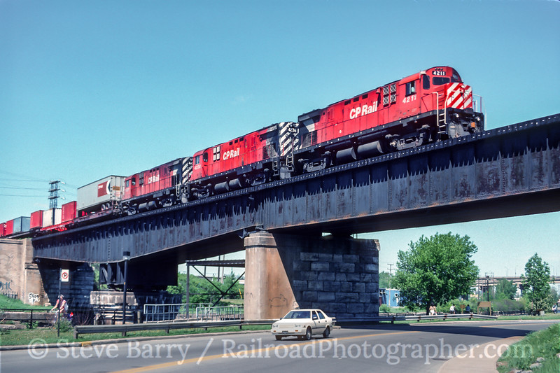 CP Rail; Montreal QC; 6/1989