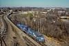 Conrail; Reading PA; 1/1989