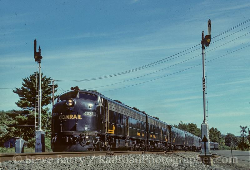 Photo 5022<br /> Conrail<br /> Tioga Center, New York<br /> September 1989