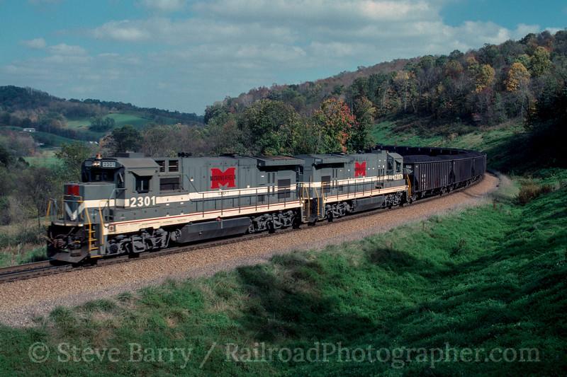 Photo 1989<br /> Monongahela; Time, Pennsylvania<br /> October 1990