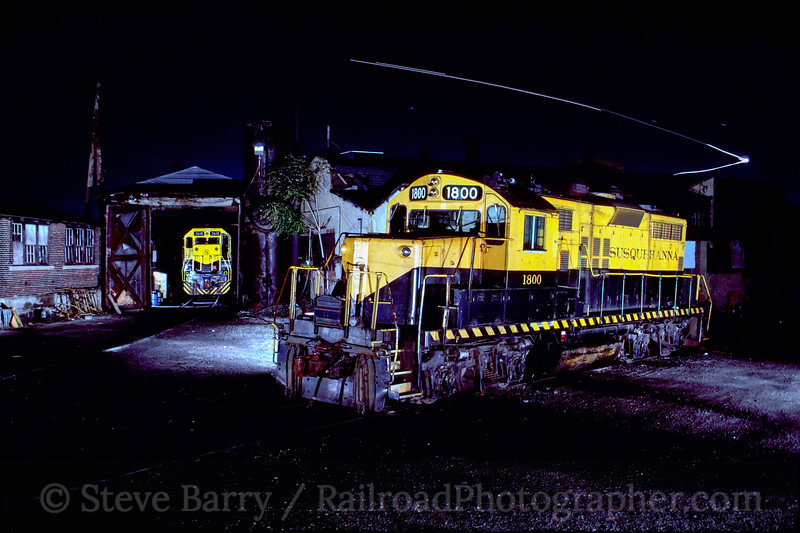 Photo 1988<br /> New York, Susquehanna & Western; Little Ferry, New Jersey<br /> October 1990