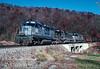 Photo 3026<br /> CSX Transportation; Hanging Rock (St. Paul), Virginia<br /> November 1990