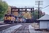Photo 2870<br /> CSX Transportation; Grafton, West Virginia<br /> October 1991