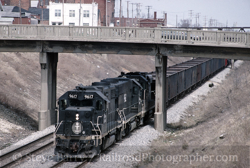 Photo 1767<br /> Illinois Central; Paxton, Illinois<br /> April 3, 1993