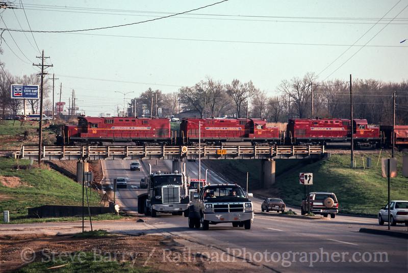 Photo 2416<br /> Arkansas & Missouri; Springdale, Arkansas<br /> April 9, 1993